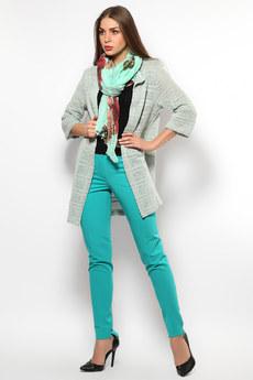 Женские бирюзовые брюки Mondigo со скидкой