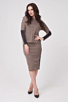 Костюм: юбка и джемпер Angela Ricci